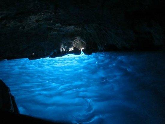Blaue Grotte (Grotta Azzurra): intérieur grotte 1