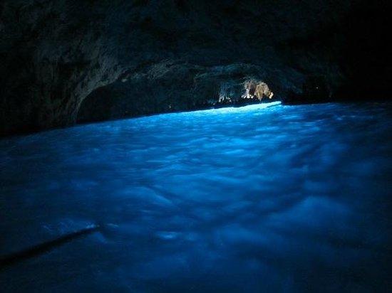Blaue Grotte (Grotta Azzurra): intérieur grotte 2