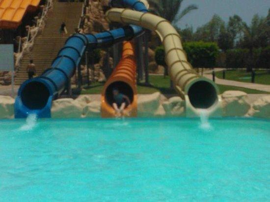 Aqua Blu Sharm: some of the slides