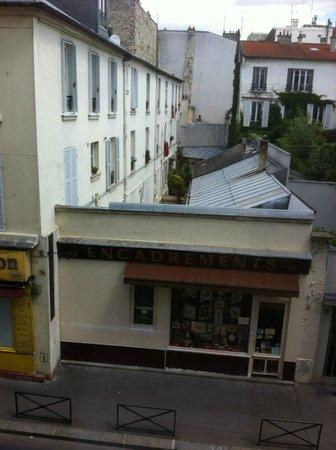 Tipi Hotel: vue de la chambre