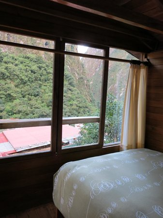 Rupa Wasi  Lodge: View out the windows upstairs