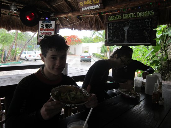 Blue Gecko Cantina: Nolan Gould from Modern Family and his brother Aidan Gould