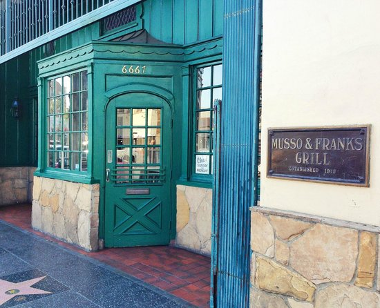 Musso & Frank Grill : Restaurant entrance