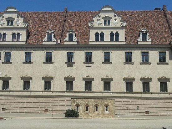 Schloss Thurn und Taxis: Внутренний двор дворца