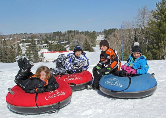 Giants Ridge Recreation Area: Snow tubing at Giants Ridge