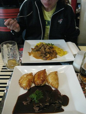 La Casa Argentina: Great first meal of Prague when nothing else was open at 11am