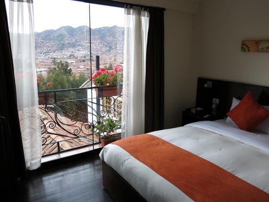 Encantada Casa Boutique Spa : Our room -- and the view!!