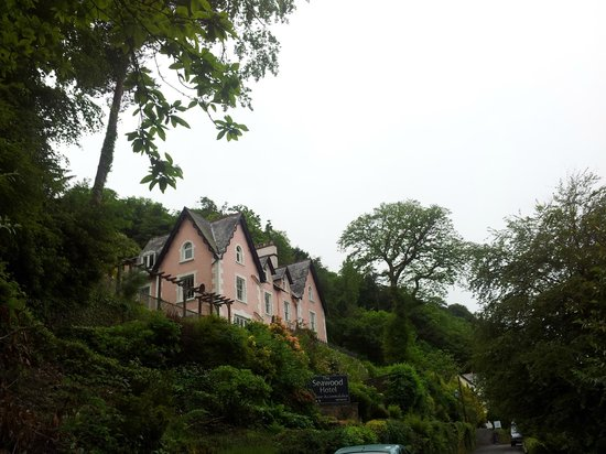 The Seawood Boutique Hotel: View from access road