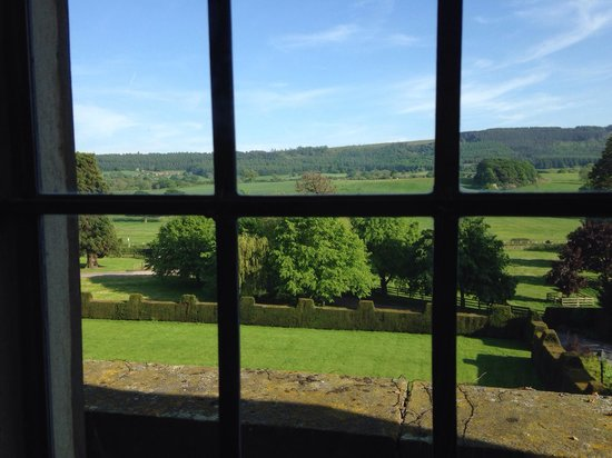 Gisborough Hall Hotel: View from our room