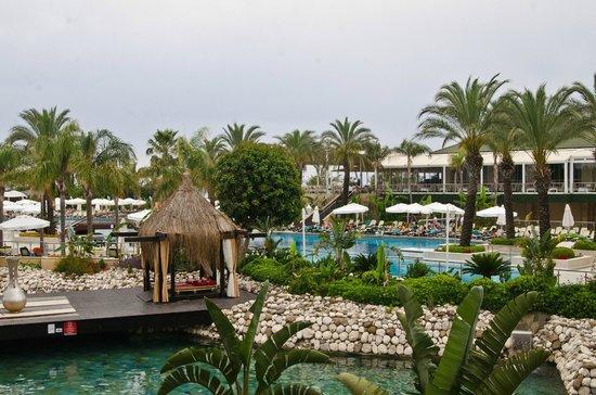 Alva Donna Exclusive Hotel & Spa: Вид из номера