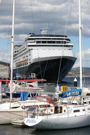Greater Hobart, Australia: Sailboats and Volendam