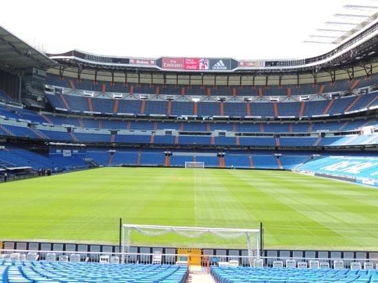 Stadio Santiago Bernabeu: wow