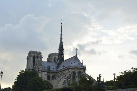 La Seine : Notredame Cathedral