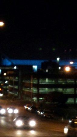 University of Texas at Austin: Longhorn stadium at night