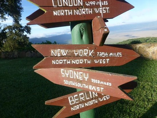 Ngorongoro Sopa Lodge: Directions to your home?