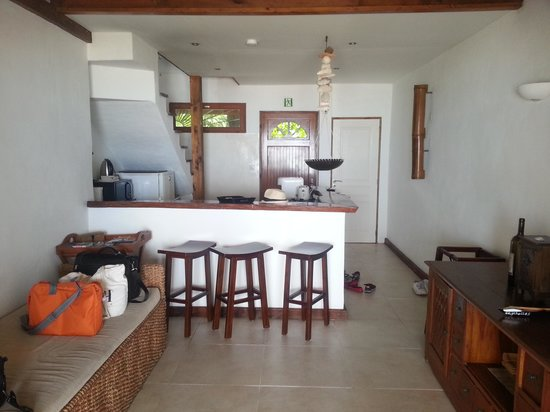 Clef des Iles: Downstairs section of our two bedroom villa.