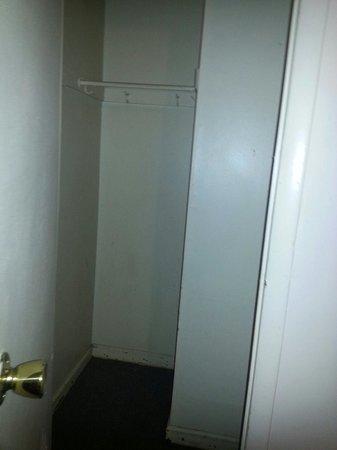 Scotia Motel: Closet