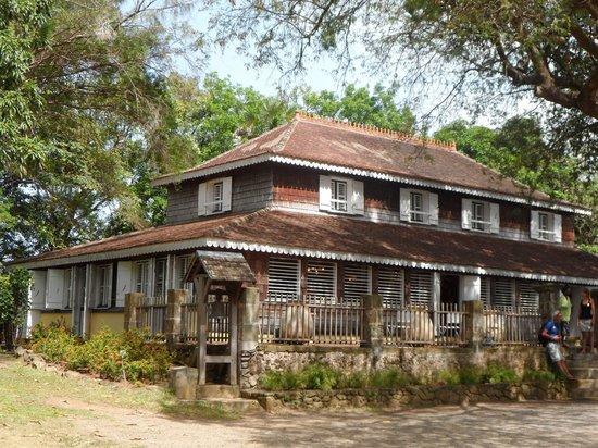 Habitation Clement: La maison de maître