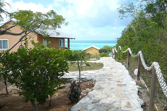 Shannas Cove Resort : Side of Seahorse and path to beach