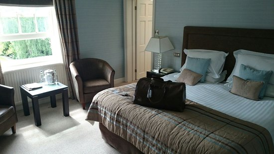 Rowton Hall Hotel : Deluxe room