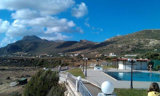 Panorama Hotel : pool and terrace area