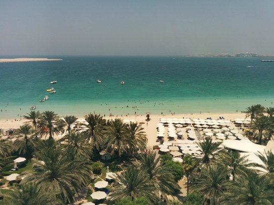 Hilton Dubai Jumeirah : The view from our room