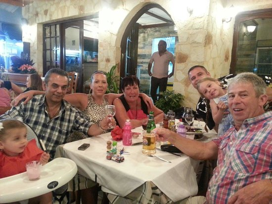 Enjoying a night in minos with yannis but missing vasi its not the same with you both not being