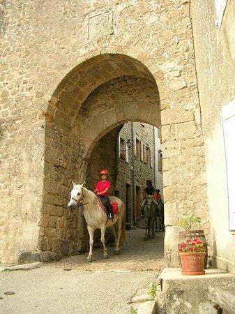 Maison d'hôtes Porte de Besse : la porte de Besse