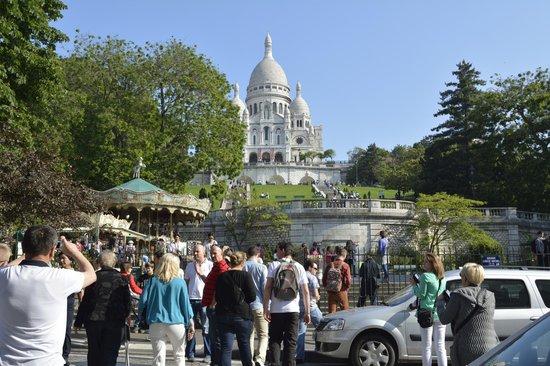 Basilique du Sacré-Cœur de Montmartre : Sacred Scour