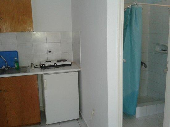 Studios Irene: Bathroom view