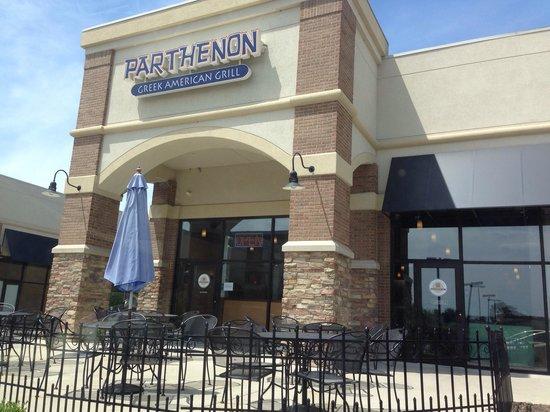 Parthenon Greek American Grill : Outside
