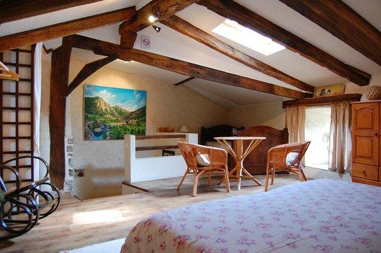Chalencon, France : Chambre Rempart