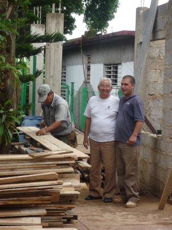 Casa Oscar: New rooms being built