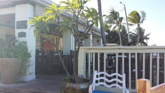 Morgan's Harbour : View of Outdoor dining