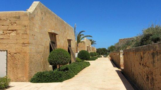 Cap Rocat: Hotel grounds