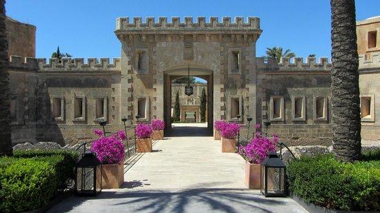 Cap Rocat: Hotel entrance