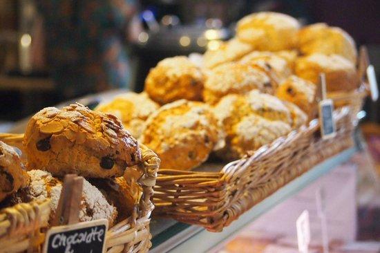 Pilgrims Coffee House: Freshly Baked Scones