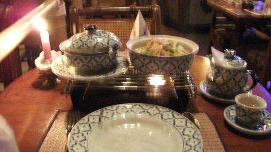 Ban Thai: Vegetable green curry