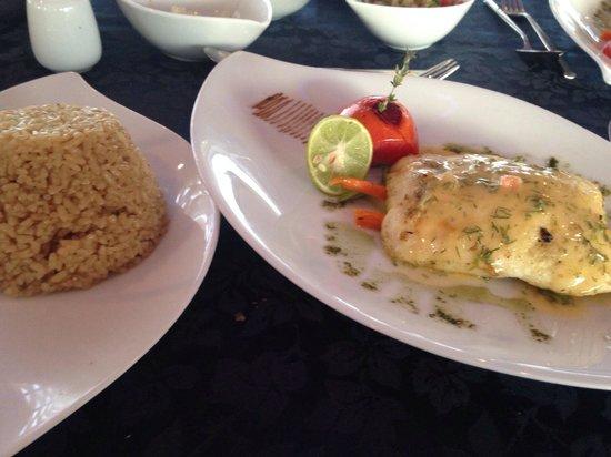 Rixos Sharm El Sheikh: A la carte fish restaurant on the beach