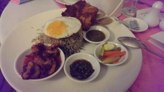 Hotel Istana: nasi goreng yummy