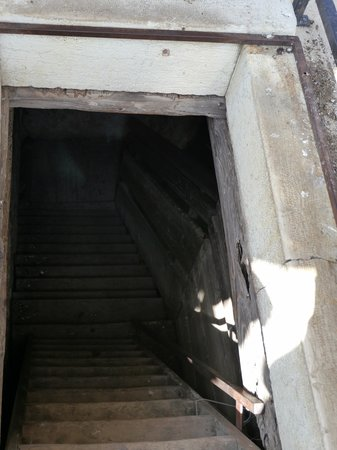 Church of St. Euphemia: The very last set of stairs at the top