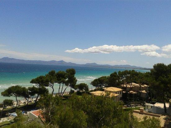 Iberostar Alcudia Park: Faszinierender  Blick vom Balkon...