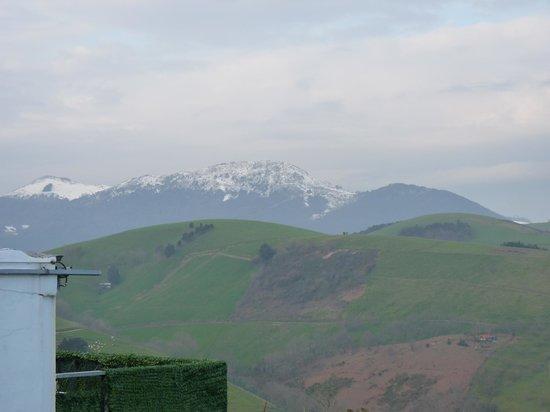 Santa klara: Vista de Zumaia