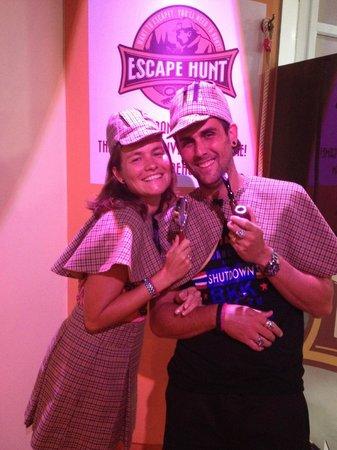 The Escape Hunt Experience Bangkok: shelok et madame!!