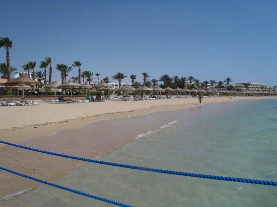 Baron Palms Resort Sharm El Sheikh: View of beach from jetty