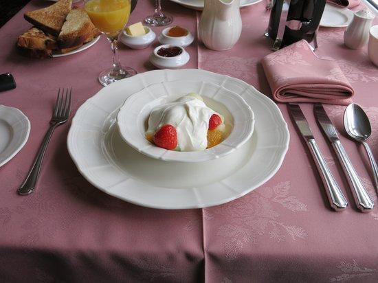 Sallyport House: Frühstück