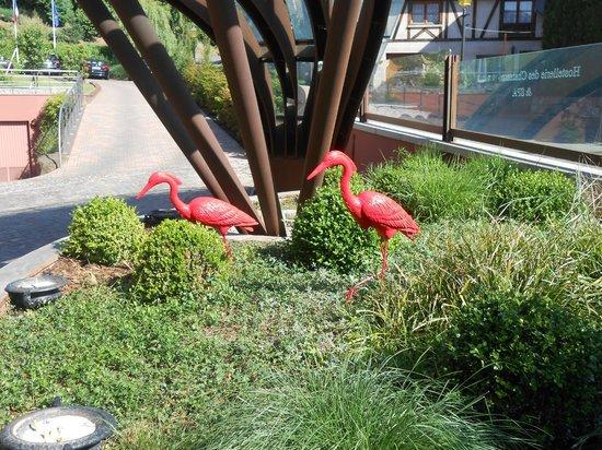 Hostellerie des Chateaux & Spa: Entrée Hotel