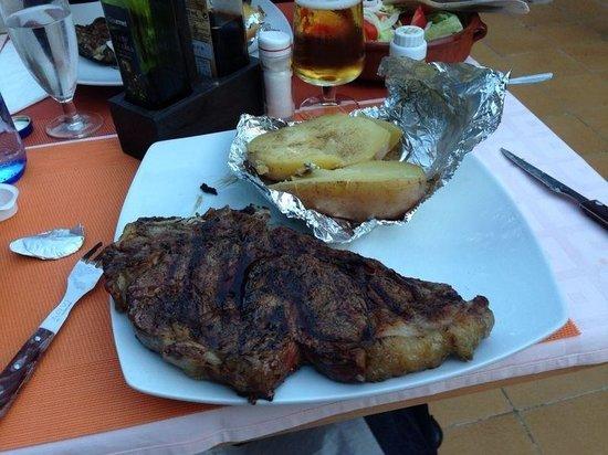 Siesta Grill: Fantastic t-bone - delicious!
