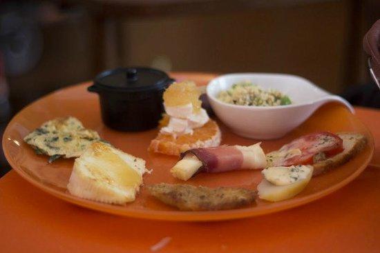 Osteria Al Canale: Il ricco antipasto