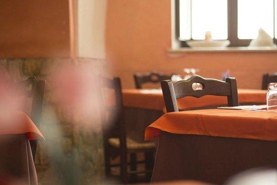 Osteria Al Canale: Un particolare della sala
